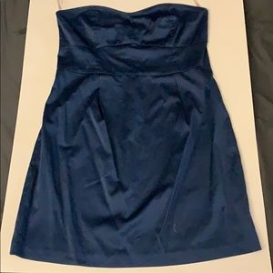 WORN ONCE Forever 21 Strapless Blue Dress